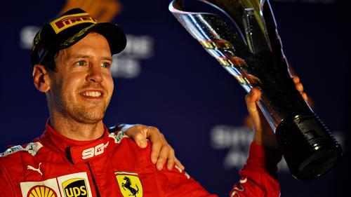 Vettel durfte endlich wieder jubeln