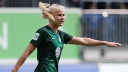 Pernille Harder vom VfL Wolfsburg setzt auf einen Mentaltrainer