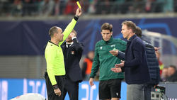 Nagelsmann war nicht gut auf den Schiedsrichter zu sprechen