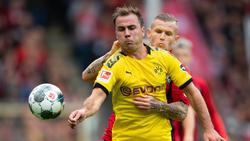 Mario Gätze stand in der laufenden Bundesliga-Saison erst dreimal in der BVB-Startelf