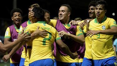 Brasil celebró por todo lo grande la victoria.