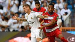 Kam zuletzt gegen Granada zum Einsatz: Toni Kroos
