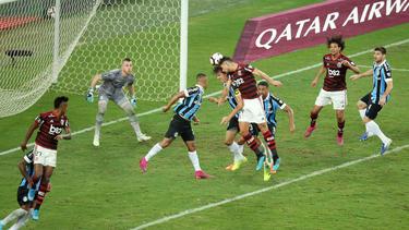 Flamengo fue mucho mejor que su rival.