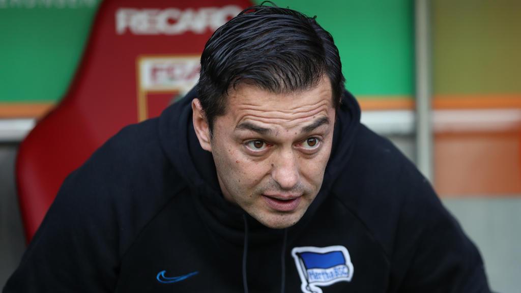 Ante Covic wurde bei Hertha BSC beurlaubt