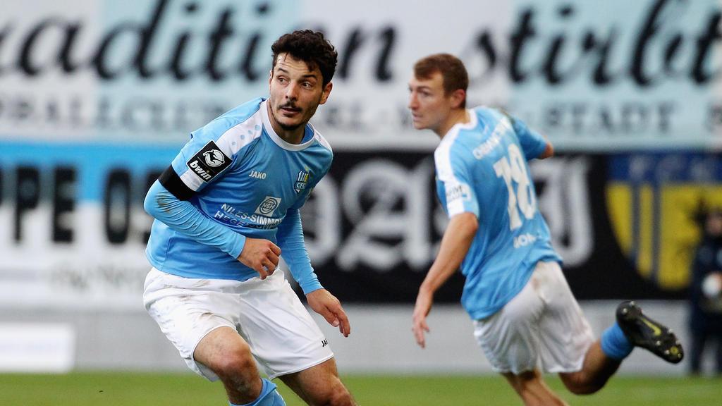 Philip Hosiner traf für den Chemnitzer FC