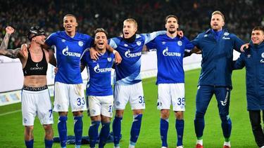 Der FC Schalke feierte einen Sieg in letzter Minute