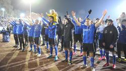 Der 1. FC Saarbrücken steht im Viertelfinale