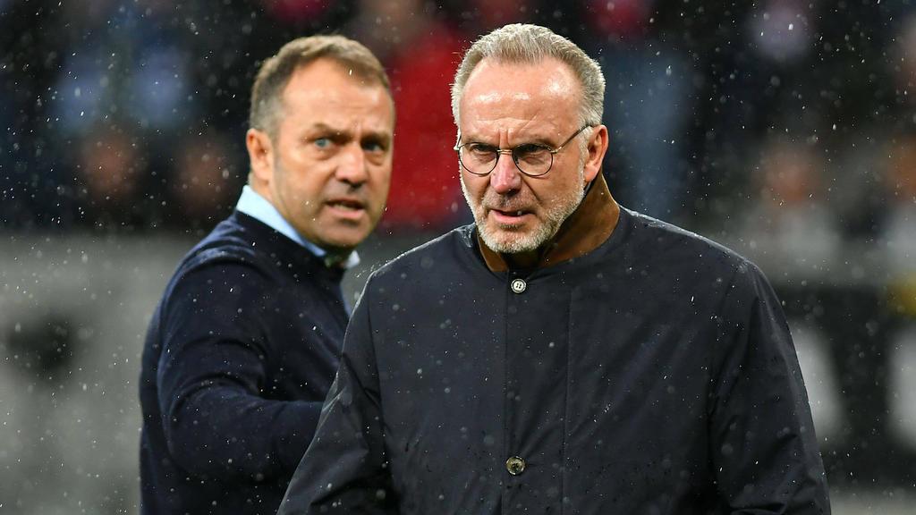 Karl-Heinz Rummenigge hat auf den Wunsch von Hansi Flick für den Kader des FC Bayern reagiert