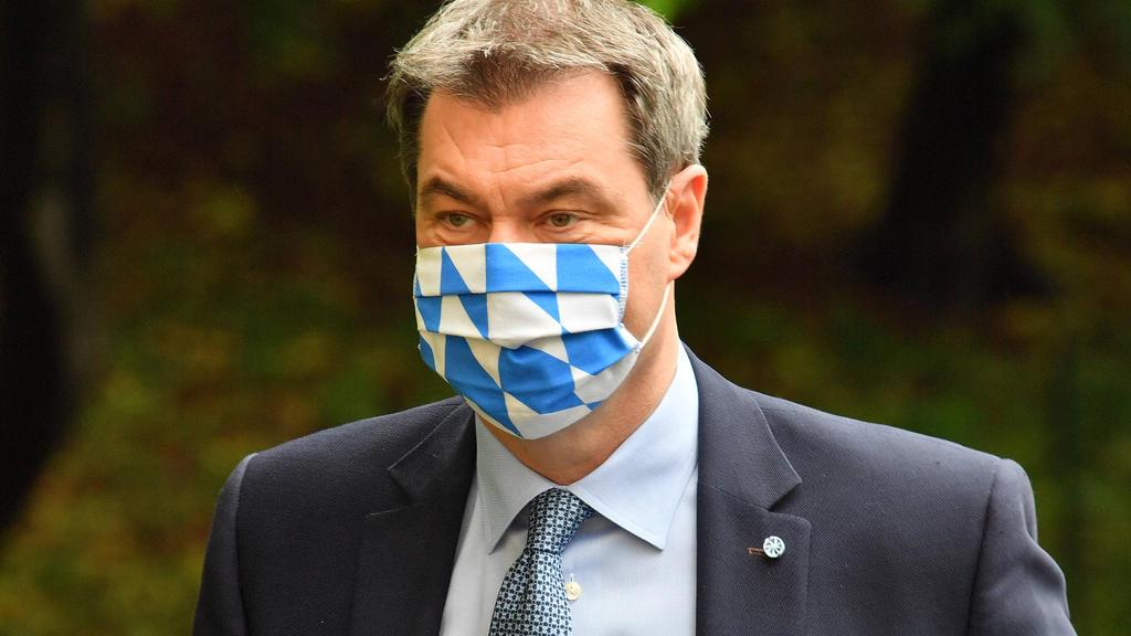 Markus Söder würde nicht scheuen, die Bundesliga abzubrechen