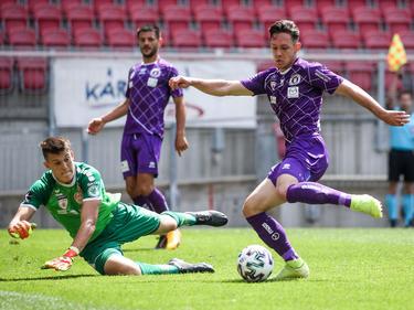 Klagenfurt erkämpft sich einen späten Heimsieg gegen Kapfenberg