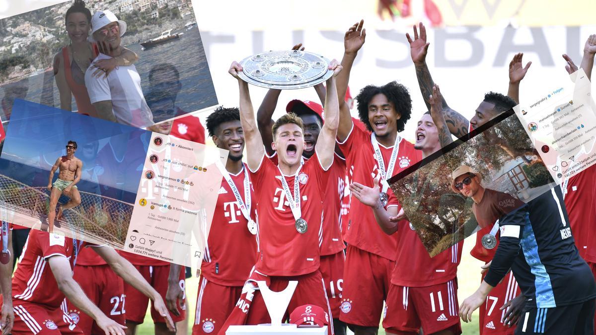 Die Spieler des FC Bayern haben rund zwei Wochen Urlaub