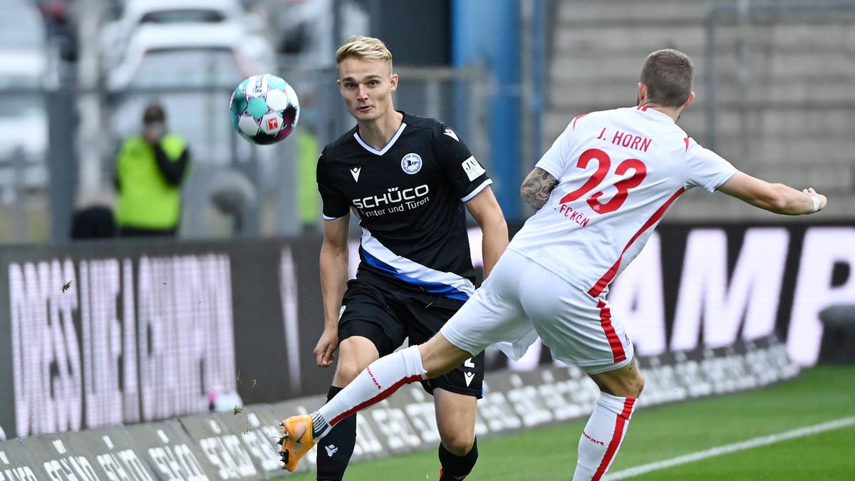 Arminia Bielefeld gelang ein Sieg bei dem ersten Bundesliga-Heimspiel der Saison