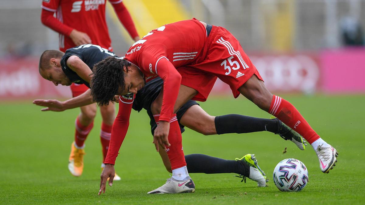 Der FC Bayern II und der 1. FC Kaiserslautern trennten sich torlos