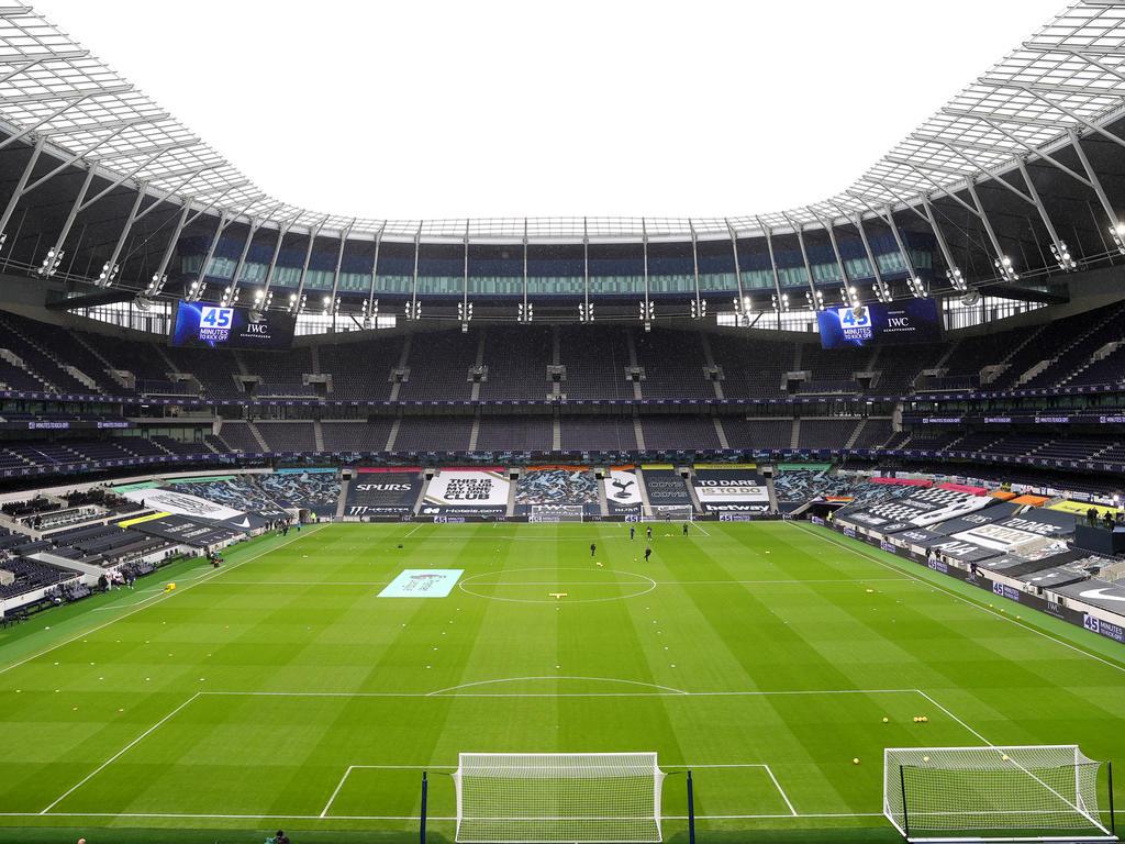 Blick ins Tottenham Hotspur Stadium