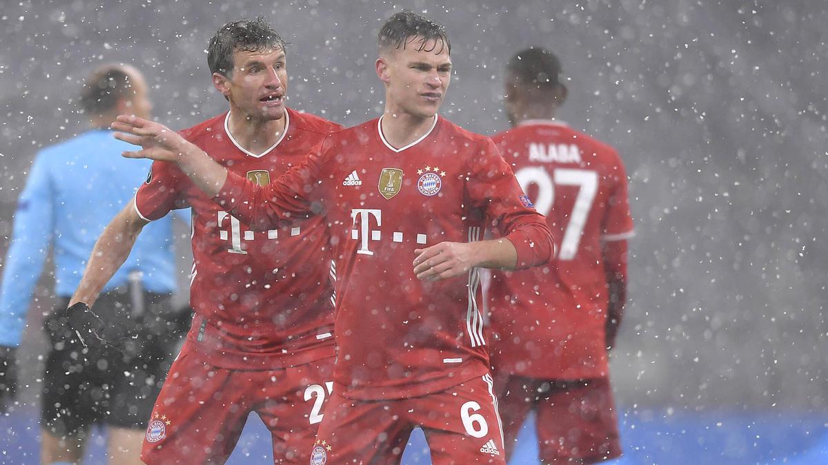 Joshua Kimmich vom FC Bayern war gegen PSG nicht frei von Fehlern