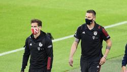 Leon Goretzka und Niklas Süle gehen beim FC Bayern bald in ihr letztes Vertragsjahr