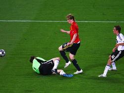 EM-Finale 2008: Torres gelingt das Goldene Tor