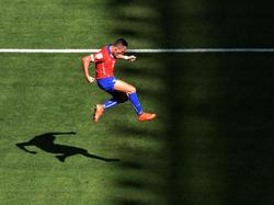 Heuerte nach der WM bei Arsenal an: der Chilene Alexis Sánchez