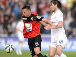 Aarau und Zürich trennten sich 0:0