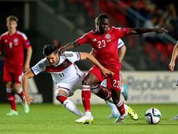 Pione Sisto für die dänische U21 gegen Deutschland