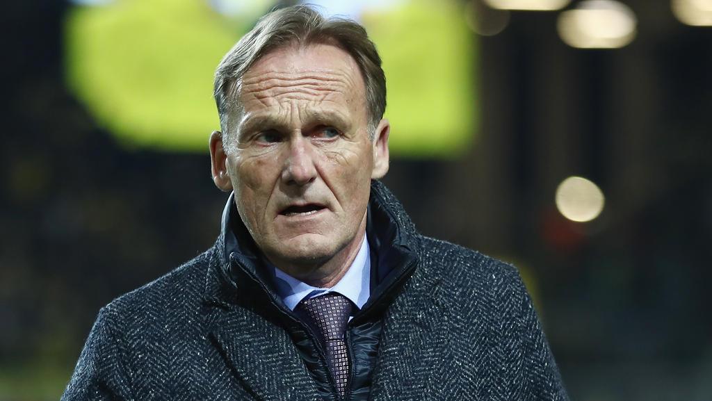 Hans-Joachim Watzke blickt der neuen Bundesliga-Saison entgegen