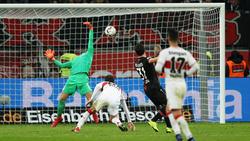 Bayer Leverkusen schlägt den VfB Stuttgart dank Kevin Volland