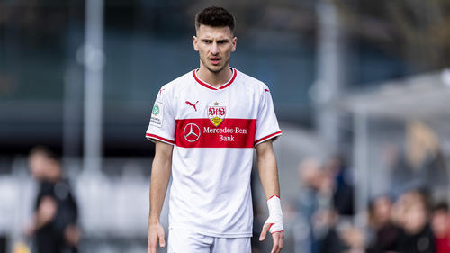 Leon Dajaku erzielte für den VfB Stuttgart zwei Tore