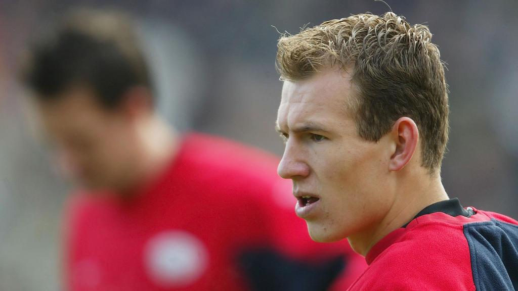 Da hatte er noch Haare: Arjen Robben wechselte 2002 von Groningen zur PSV