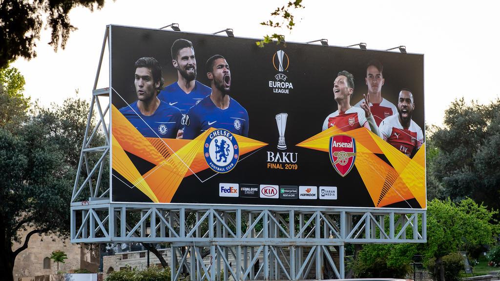 Baku bereitet sich auf das Finale der Europa League vor