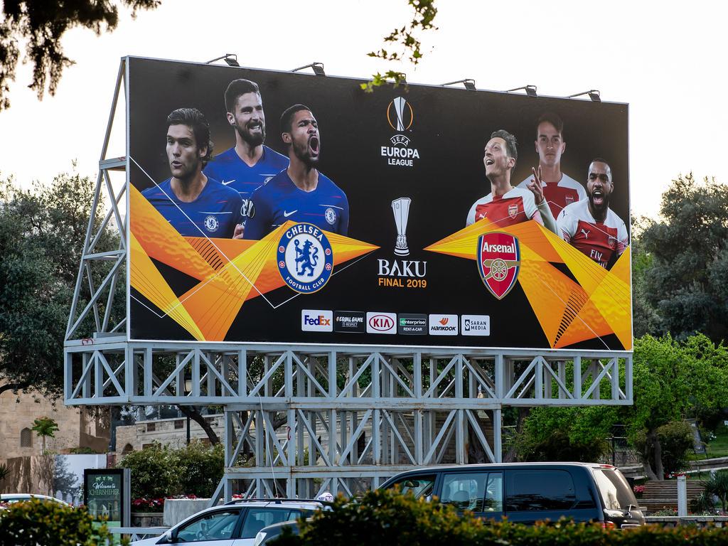 In Baku trifft Chelsea auf Arsenal
