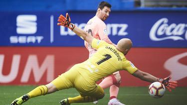Messi termina la temporada con 36 goles en 38 partidos. (Foto: Getty)