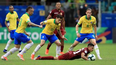 Brasilien patzt bei der Copa América