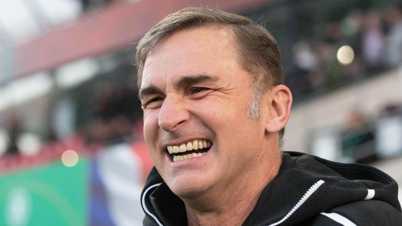 U21-Bundestrainer Stefan Kuntz hat vor dem Auftakt der U21-EM in Italien gut lachen