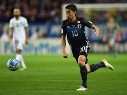 Japan kam gegen Saudi-Arabien zu einem 2:1-Erfolg