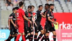 Bayer Leverkusen gab sich beim ersten Test in der Saisonvorbereitung keine Blöße