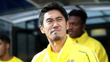Shinji Kagawa steht vor einem Wechsel nach Spanien