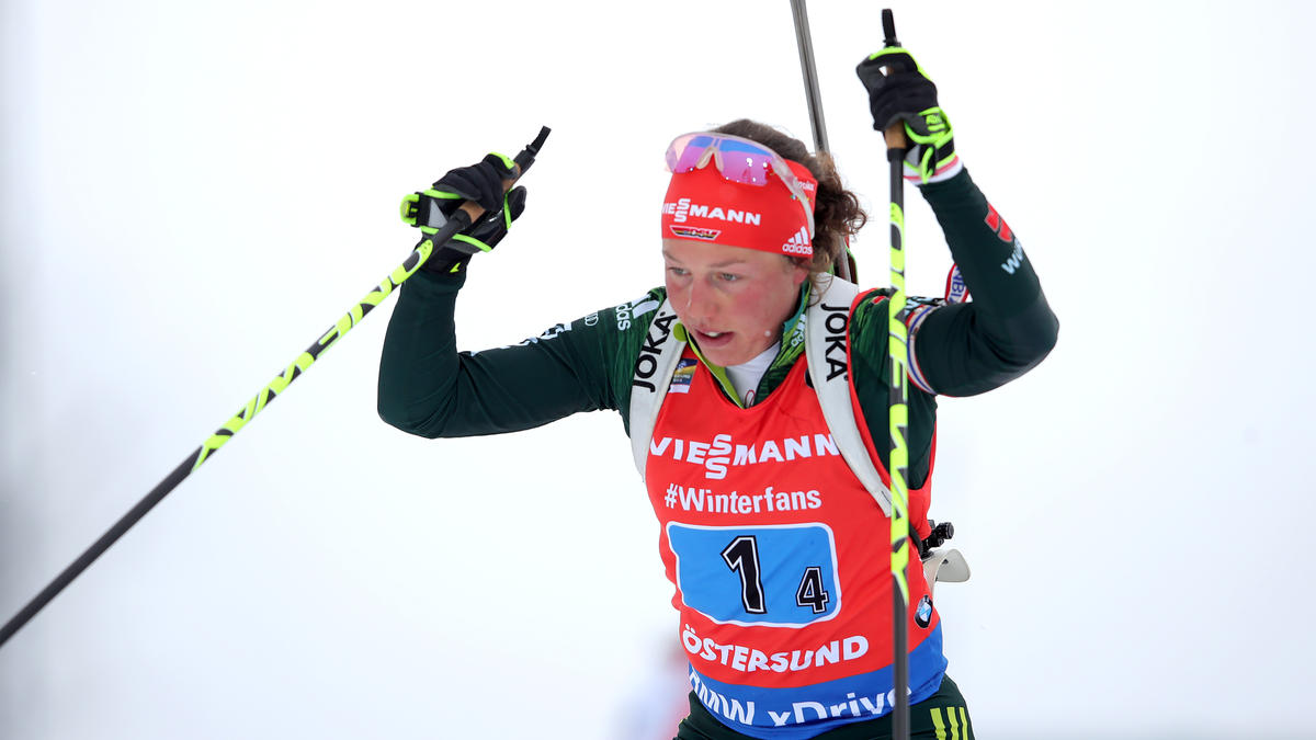 Laura Dahlmeier hat ihre Biathlon-Karriere beendet