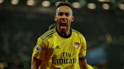 Ist gefragt: Pierre-Emerick Aubameyang vom FC Arsenal