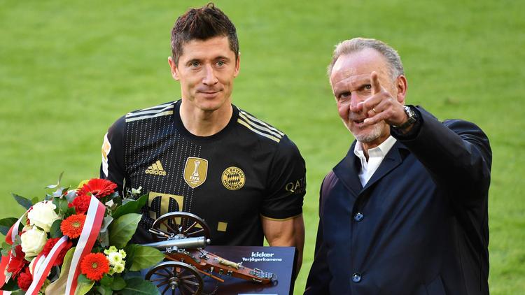 Besondere Ehre für Robert Lewandowski vom FC Bayern