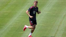 Thomas Müller ist zurück beim FC Bayern