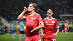 Der 1. FC Union Berlin steht unter den besten 16 Teams des Pokals