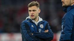Joshua Kimmich vom FC Bayern sieht Potenzial für Verbesserung bei sich
