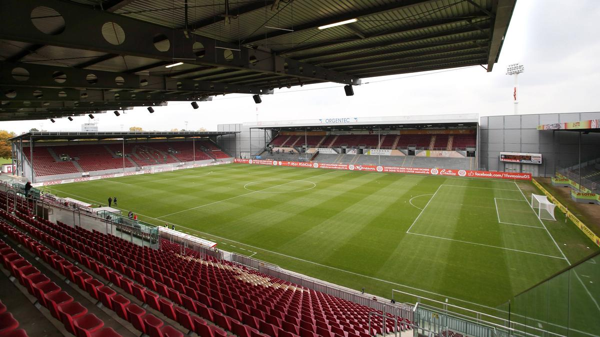 Das alte Stadion am Bruchweg dient als Trainingsstätte