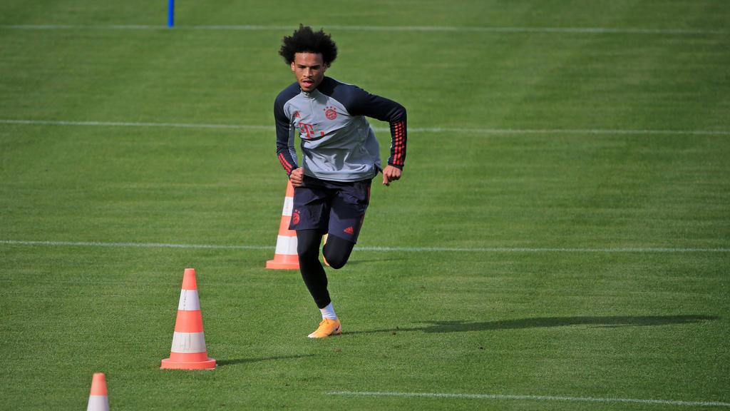 Leroy Sané schuftet für sein Comeback beim FC Bayern