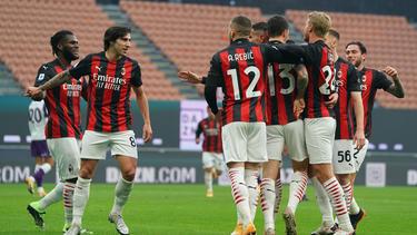 Milan verteidigte die Tabellenführung