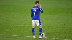 Ist nach seiner schweren Verletzung aus dem Augsburg-Spiel auf dem Wege der Besserung: Schalkes Mark Uth