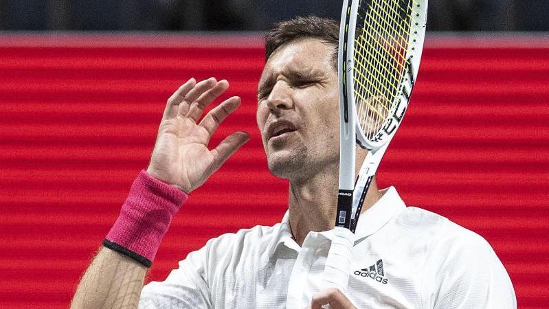 In Doha in der ersten Runde ausgeschieden: Mischa Zverev