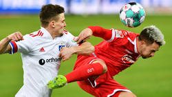 Der HSV und Fortuna Düsseldorf konnten kein Tor erzielen