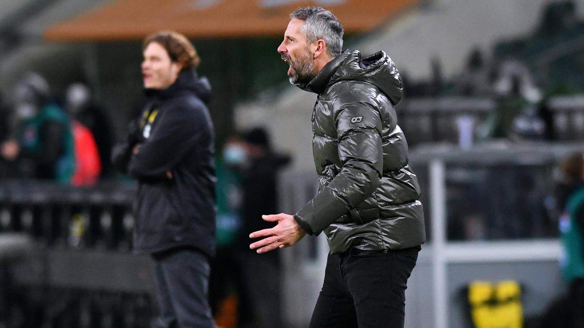 Edin Terzic rückt unter Marco Rose (r.) zurück ins zweite Glied beim BVB