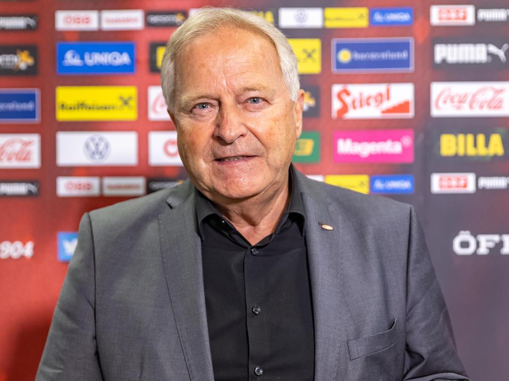 Leo Windtner stellt sich neuerlich als ÖFB-Präsident zur Wahl